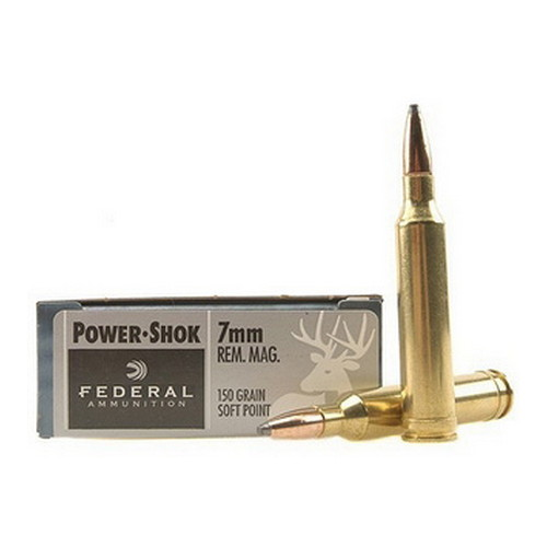 7mm Rem Mag 150gr SP Pwr-Shok /20