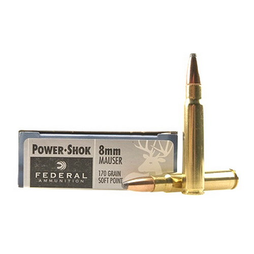 8mm Mauser 170gr SP Power-Shok/20