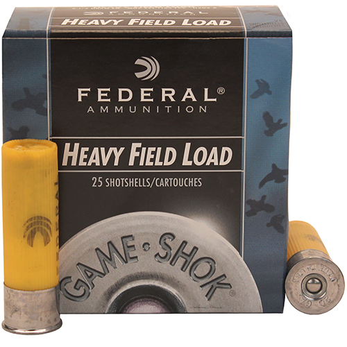 "Field Load 20ga 2 3/4"" 6-Shot /25"