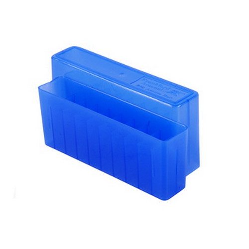 Blue Rifle Ammo Box Holds 20 Bullets