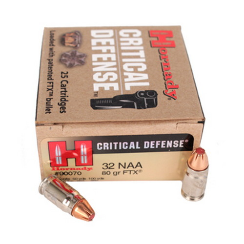 Critical Defense 32NAA 80gr FTX CD /25