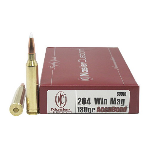 264 Winchester Mag 130gr AB (Per 20)