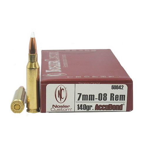 7mm-08 Rem 140gr AccuBnd (Per 20)