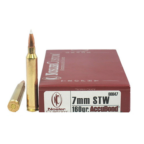 7mm STW 160gr AccuBond (Per 20)