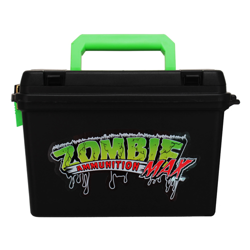"Black and Zombie Green Ammo Box for 2.75"" or 3"" Shells"