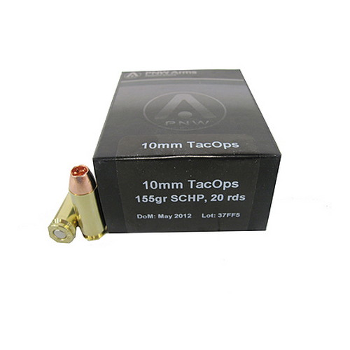 10mm TacOps 140gr Solid Copper HP /20