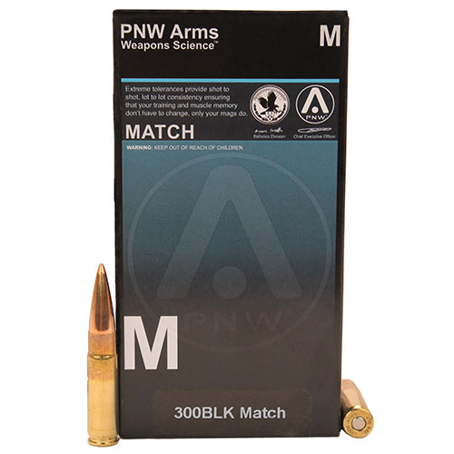 300BLK Match 125gr SMK HP /20