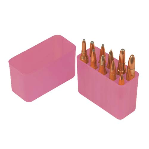 Pink Rifle Ammo Box Holds 10 Bullets