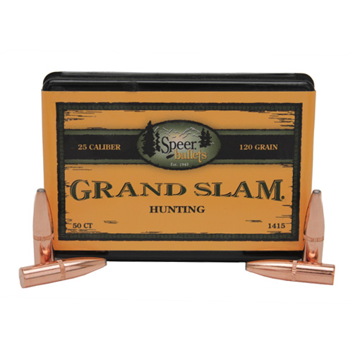 Grand Slam .25 120Grain SP/50