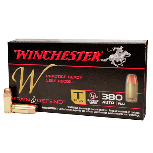 W 380ACP Train 95gr JHP ReducedLead /50