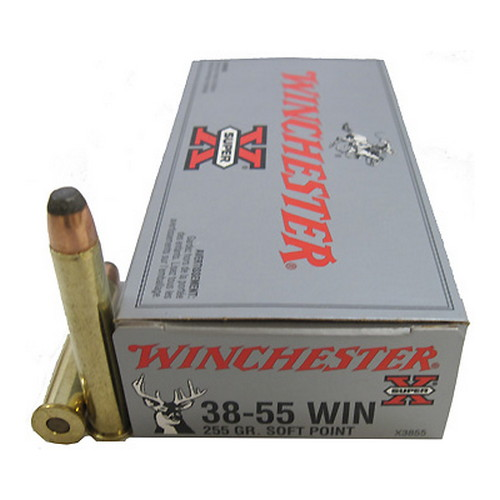 38-55 Win 255Gr. Soft Point/20